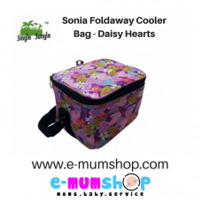 Jingle Jungle - Sonia Foldaway Cooler Bag (Daisy Hearts)