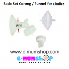 Basic Set Corong Cimilre 24mm ( Compatible Brand )