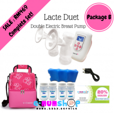 Lacte Duet Double Electric Breastpump - Package B