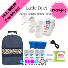 Lacte Duet Double Electric Breastpump - Package C