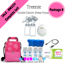 Treenie Kampakto  Double Electric Breast Pump - Package B