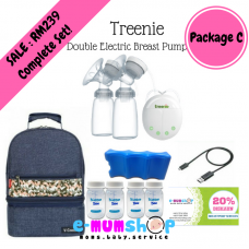 Treenie Kampakto  Double Electric Breast Pump - Package C