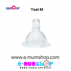 Spectra Wide Neck Bottle Teat (M)