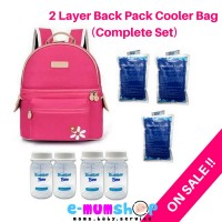 V cool back pack rose set