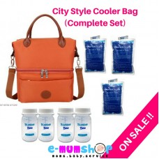 V-Cool Cooler Bag City Style Complete Set Orange