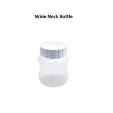 Wide Neck Bottle with Cap